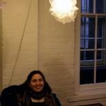 Melissa Goldman sells her fabulous lamps.