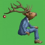 ornament deer SM